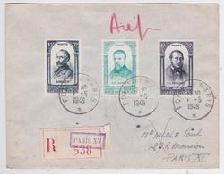 Cachet Foire De Paris 1948 - Lettre Recommandée Paris XV - France
