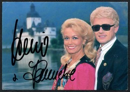 C0493 - TOP Orig. Heino & Hannelore Autogramm - Autogrammkarte - Autographs