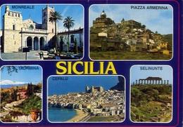Sicilia - Monreale - Piazza Armerina - Taormina - Cefalù - Selinunte - Formato Grande Viaggiata – E 9 - Bagheria