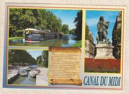 8AK4112 CANAL DU MIDI  PENICHE 2 SCANS - Francia
