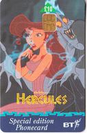 UK -  Disney, Hercules/Megara(PUB083), Exp.date 31/03/99, Used - Disney