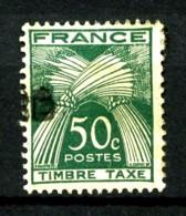 """Taxe  80 - 50c Vert """"TIMBRE-TAXE"""" - Oblitéré - Très Beau - Taxes"""