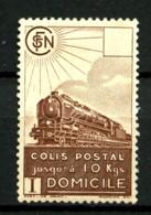 COLIS-POSTAUX  - 174 - (2F70) Brun - Neuf N* - Très Beau - Paketmarken