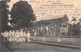 Gabon / Libreville - 01 - L'arrivée  Du Commissaire Général - Gabon
