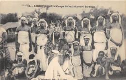 Gabon / Libreville - 02 - Corps De Ballet Pour L' Iwanga - Gabon