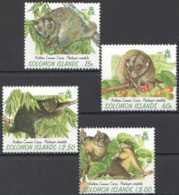 1997 Solomon Islands - Northern Common Cuscus / Wollkuskus-MNH** MiNr. 937 - 940 (kk) - Salomoninseln (Salomonen 1978-...)