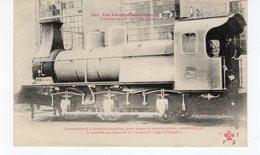 LES LOCOMOTIVES  (Belgique) Trains De Marchandises Construite Par La S. Anonyme De St Léonard à Liège (Belgique). - Treinen