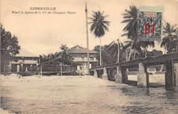 Gabon / Libreville - Belle Oblitération - 13 - Wharf Et Agence De La Cie Des Chargeurs Réunis - - Gabon