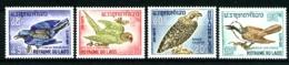 LAOS  127 / 130 - Oiseaux - Série Complète 4 Valeurs - Neufs N** - Très Beaux - Laos