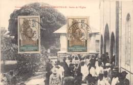 Gabon / Libreville - Belle Oblitération - 22 - Sortie De L'église - Gabon