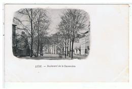 CPA-LIEGE-BOULEVARD DE LA SAUVENIERE- - Liege