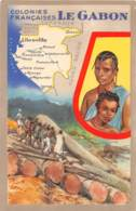 Gabon / Ethnic - 31 - Belle Carte Illustrée - Gabon