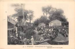 Gabon / Topo - 35 - N Djolé - Embarquement De Caoutchouc - Gabon