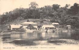 Gabon / Topo - 41 - Cap Lopez - Factoreries à Lambaréné - Gabon