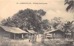 Gabon / Topo - 42 - Libreville - Village Gabonnais - Gabon