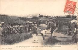 Gabon / Topo - Belle Oblitération - 46 - De Béhagle Partant Vers Le Tchad - Gabon