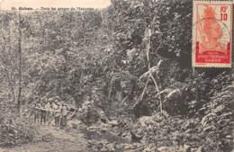 Gabon / Topo - Belle Oblitération - 47 - Dans Les Gorges Du Mayumba - Gabon