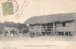 Gabon / Topo - Belle Oblitération - 49 - Franceville - Factorerie - - Gabon