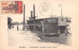 Gabon / Topo - Belle Oblitération - 52 - Pereira - Lambaréné - L' Adjamé - Vapeur Fluvial - Gabon
