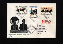 Finland 1976 TBC Interesting Registered Letter - Krankheiten