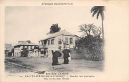 Gambie / 05 - Sainte Marie De Bathurst - Une Des Rues Principales - Gambie