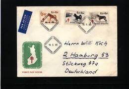 Finland 1965 TBC Interesting  Letter - Krankheiten