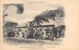 Gambie / 17 - Sainte Marie De Bathurst - Le Marché Aux Provisions - Gambie