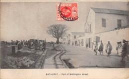 Gambie / 24 - Bathurst - Part Of Wellington Street - Gambia