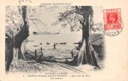 Gambie / 26 - Sainte Marie De Bathurst - Une Vue Du Port - Belle Oblitération - Gambia