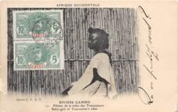 Gambie / 27 - Fillette De La Tribu Des Toucouleurs - Belle Oblitération - Gambie