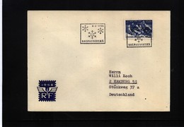Finland 1966 Hockey Interesting  Letter - Eishockey