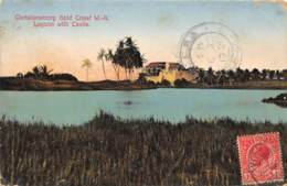 Ghana / Topo - 11 - Christiansborg - Lagoon With Castle - Ghana - Gold Coast