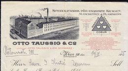 AUSTRIA WIEN - OTTO TAUSSIG - INVOICE RECHNUNG FAKTURA 1925 (see Sales Conditions) - Austria
