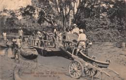 Ghana / Topo - Belle Oblitération - 12 -Transport Across The River Densu - Ghana - Gold Coast
