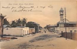 Ghana / Topo - Belle Oblitération - 15 - Main Street - Accra - Ghana - Gold Coast