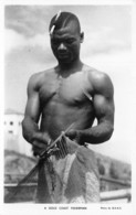 Ghana / Ethnic - 21 - A Gold Coast Fisherman - Ghana - Gold Coast