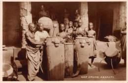 Ghana / Ethnic - 23 - War Drums - Ashanti - Ghana - Gold Coast