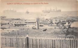 Guinée Espagnole / 08 - Embarque De Madera En Rio Benito - Guinée