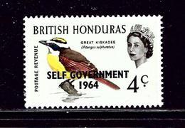 British Honduras 184 MNH 1964 Overprint - British Honduras (...-1970)