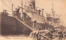 Guinée  Portuguaise / 19 - Bissau - Embarque Do Vapor - - Pinhel - Guinea-Bissau