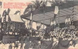 Guinée  Française / Conakry - 06 - Inauguration Du Monument Ballay - Guinée Française