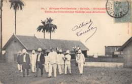 Guinée  Française / Conakry - 08 - Visite Du Gouverneur Aux Abattoirs - Guinée Française