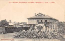 Guinée  Française / Conakry - 09 - La Gare - Guinée Française