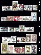 WW23 25 Different Stamps; Czechoslovakia CTO - Stamps