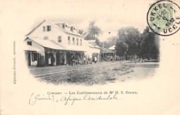 Guinée  Française / Conakry - 13 - Les établissements Brown - Belle Oblitération - Guinée Française