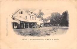 Guinée  Française / Conakry - 17 - Les établissements Brown - Guinée Française