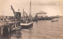 Guinée  Française / Conakry - 21 - Le Port Et Le Bougainville - Guinée Française
