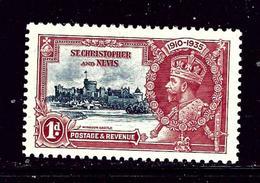 St Kitts-Nevis 72 MNH 1935 KGV Silver Jubilee - St.Kitts And Nevis ( 1983-...)