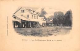 Guinée  Française / Conakry - 31 - Les établissements Brown - Belle Oblitération - Guinée Française