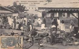 Guinée  Française / Conakry - Belle Oblitération - 33 - Le Marché - Belle Oblitération - Guinée Française
